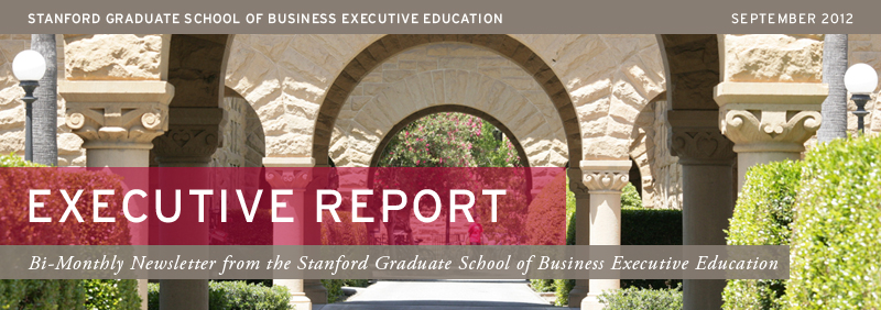 Stanford Executive Education- Executive Report